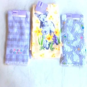 Hand Towels NWT Set of 4 - Multicolored